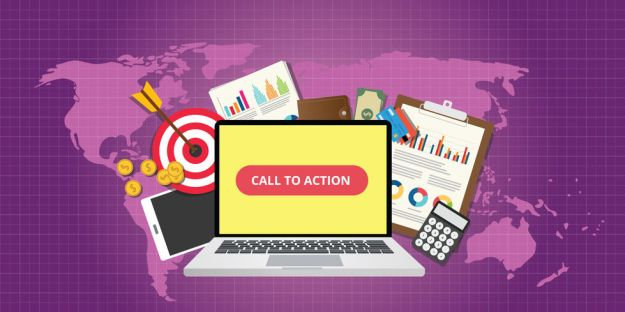 49993033 - call to action traffic data goals graph money technology vector