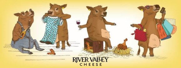 Cows of River Valley Cheese