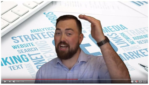 Picture of Matt Mcpherson in our website management service video
