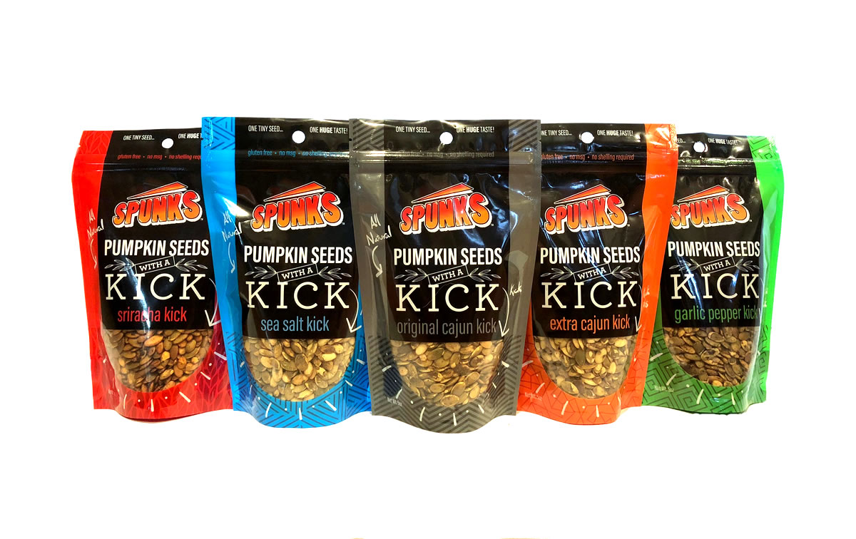 Spunks Pumpkin Seeds Flavors