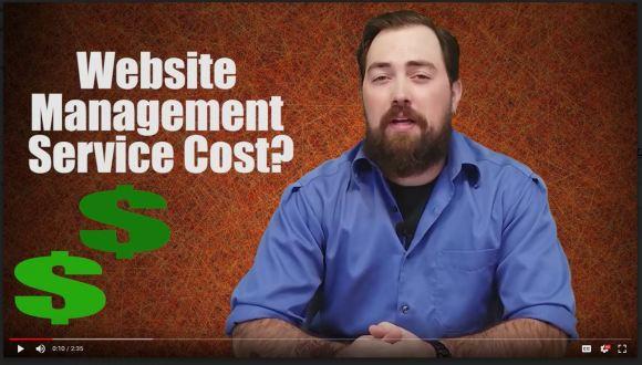 Matt McPherson talking about Website Management Service