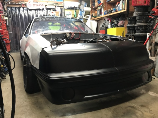 The Race Car for Evergreen Speedway