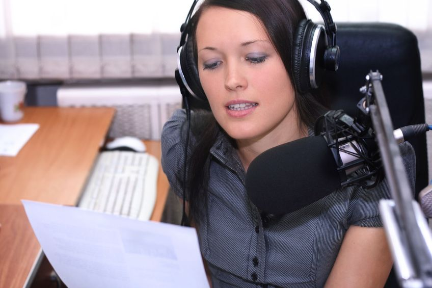 women speaking to internet radio lovers