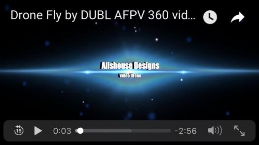 Racing drone 360 YouTube Video